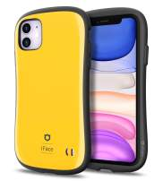 iFace First Class Series iPhone 11 Case – Cute Dual Layer [TPU and Polycarbonate] Hybrid Shockproof Protective Cover for Women [Drop Tested] - Yellow