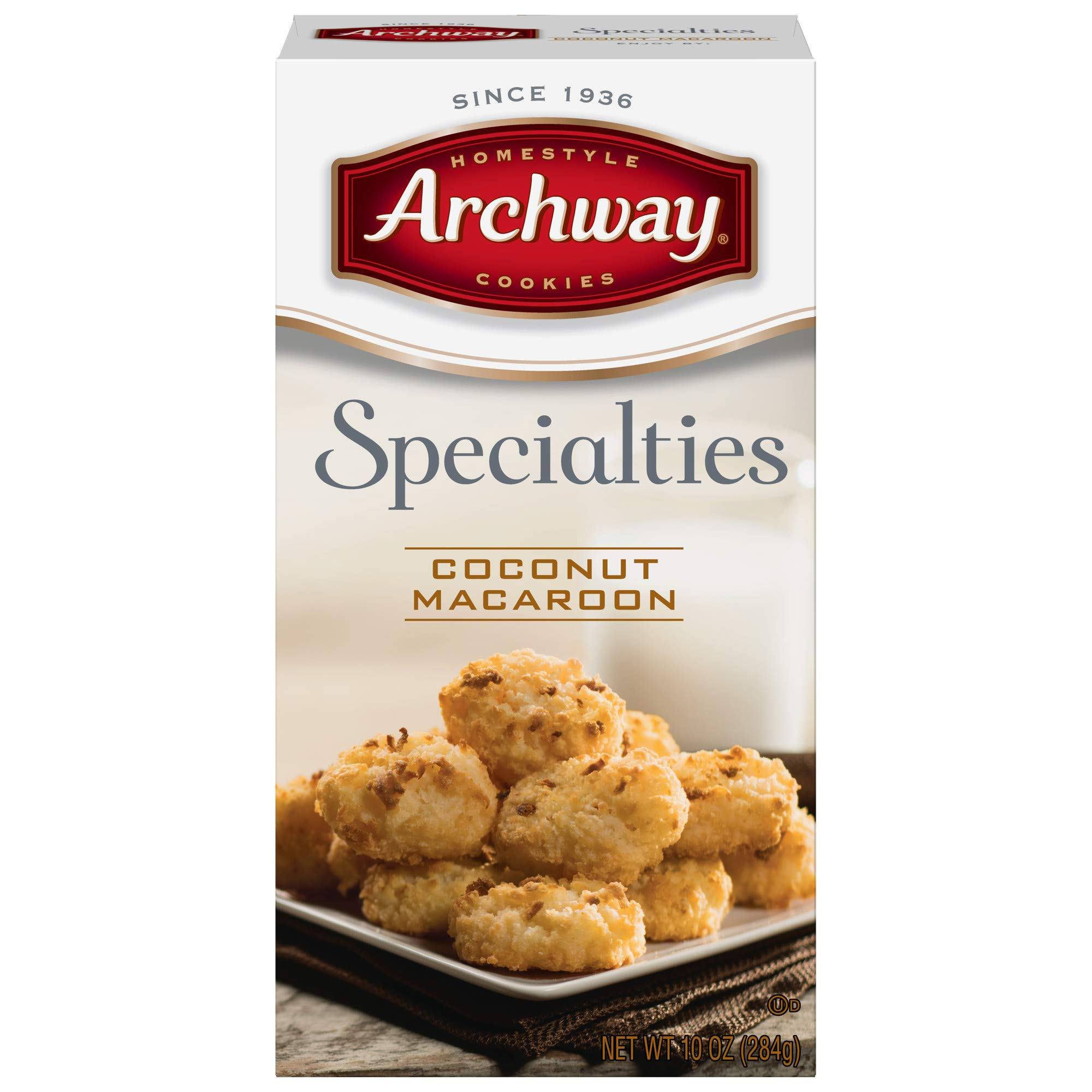 Archway Archway Original Coconut Macaroon Cookies, 10 Ounce