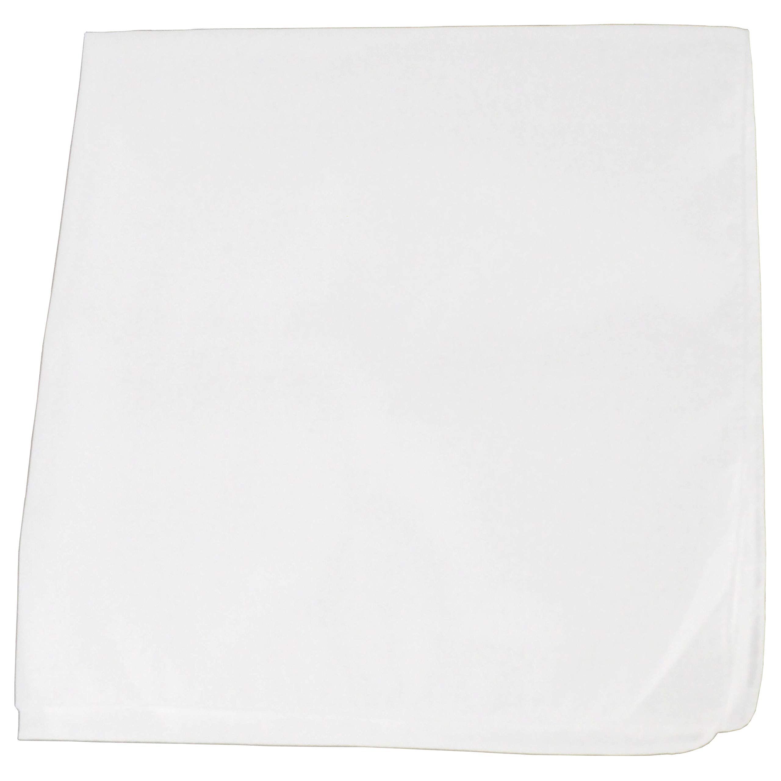 Set of 12 Solid 100% Polyester Unisex Bandanas - One Dozen