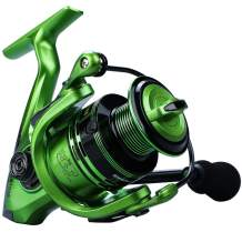 YONGZHI Bulnt Fishing Reels,13+1BB Light Weight and Ultra Smooth Powerful Spinning Reels for Saltwater and Freshwater Fishing