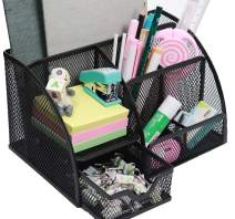 Snow Cooler Pen Holders Pencil Holders Desk Organizers Office Organizers for Desk, 7 Compartments