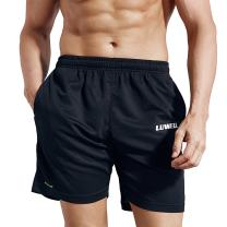 """LUWELL PRO Men's 7"""" Running Shorts with Pockets Quick Dry Breathable Active Gym Shorts for Workout,Training,Jogging"""
