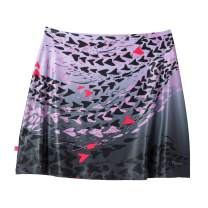 Terry Stretch Mini Skirt | Quick Drying Athletic Skirt for Cycling and Outdoor Activities