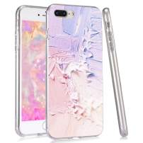 LuGeKe Pink Phone Case for iPhoneXs max,Colored Patterned Case Cover,HardPCBackwithTPUBumper Anti-Stratch Bumper Protective Cute Girls Phonecase(Pink and Purple)