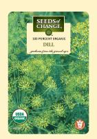 Seeds of Change Certified Organic Dill
