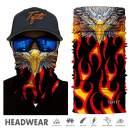 TEFITI Face Scarf Magic Scarf Bandana Balaclava Headband Neck Gaiter