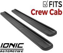 Ionic Factory Style Running Boards 2014-2018 Chevy Silverado GMC Sierra Crew Cab