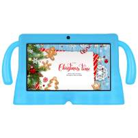 Xgody 7 inch Kids Tablet PC Quad Core Android 8.1 1GB RAM 16GB ROM Touch Screen with WiFi Pre-Loaded 3D Game Dual Camera Blue