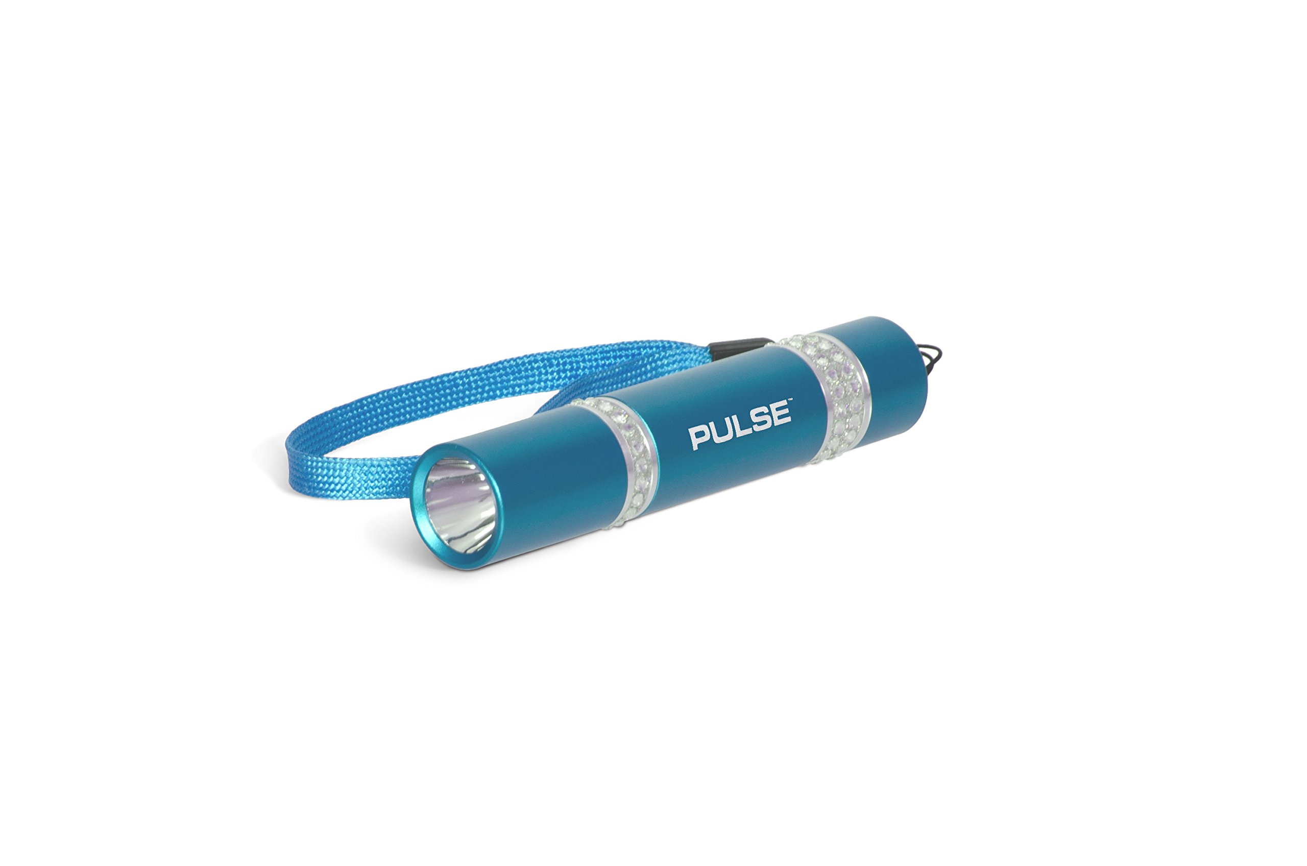 LUX-PRO PS205-TQ 40 lm PULSE SLIMS Flashlight with 10 h Runtime and 1xAA Alkaline Battery Included, Turquoise