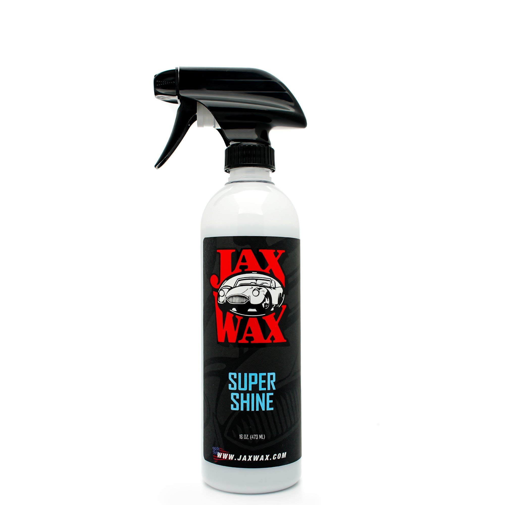 Jax Wax Super Shine Tire Dressing - Wheel Conditioner and Protectant Spray - 16 Ounce