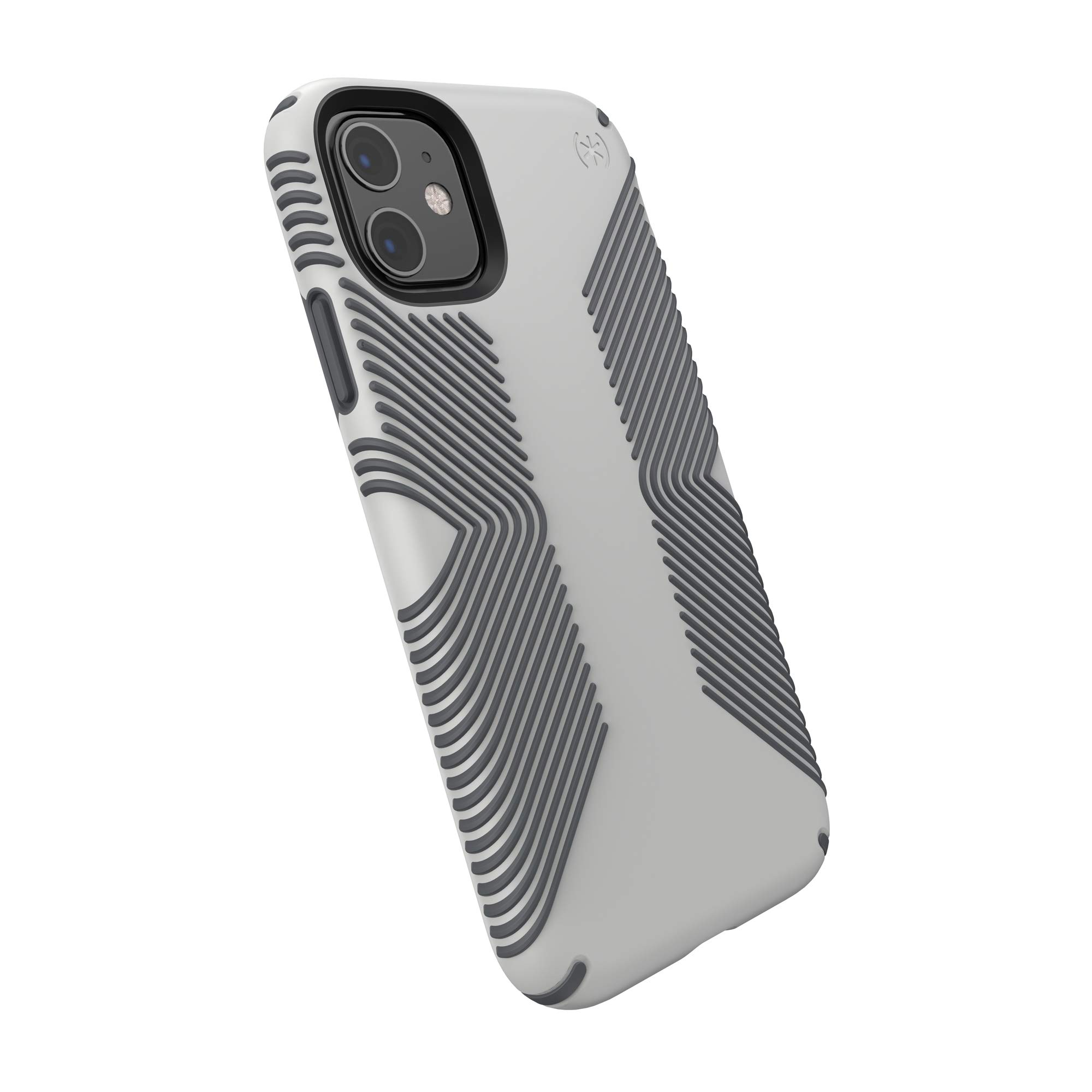 Speck Products 129909-8396 Presidio Grip iPhone 11 Case, Marble Grey/Anthracite Grey