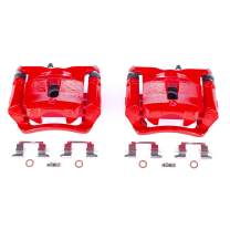 Power Stop S5522 Performance Rear Powder Coated Brake Caliper Pair