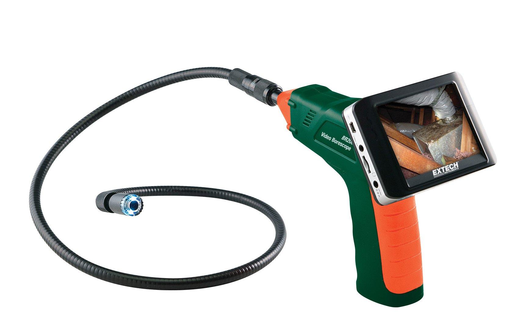 Extech BR200 Video Borescope/Wireless Inspection Camera