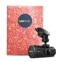 VANTRUE N2 Pro Uber Dual 1080P Dash Cam with Gift Box, Single Front 1440P 30fps 1080P 60fps Dash Cam, Front and Inside Car Cam IR Night Vision, 24Hrs Parking Mode, Optional GPS, Support 256GB Max