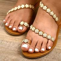 Yokawe 24Pcs Glitter Fake Toenails White Full Cover Acrylic Glossy Mirror Fake Nails for Toes False Nails Press on Toe Art Tips for Women and Girls