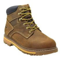 "Golden Fox Work Boots Men's 6"" Industrial & Construction Comfortable Boot for Work Pro"