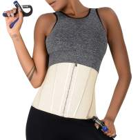 ASHLONE Waist Trainer Corset for Women, High Compression Waist Cincher for Tummy Control