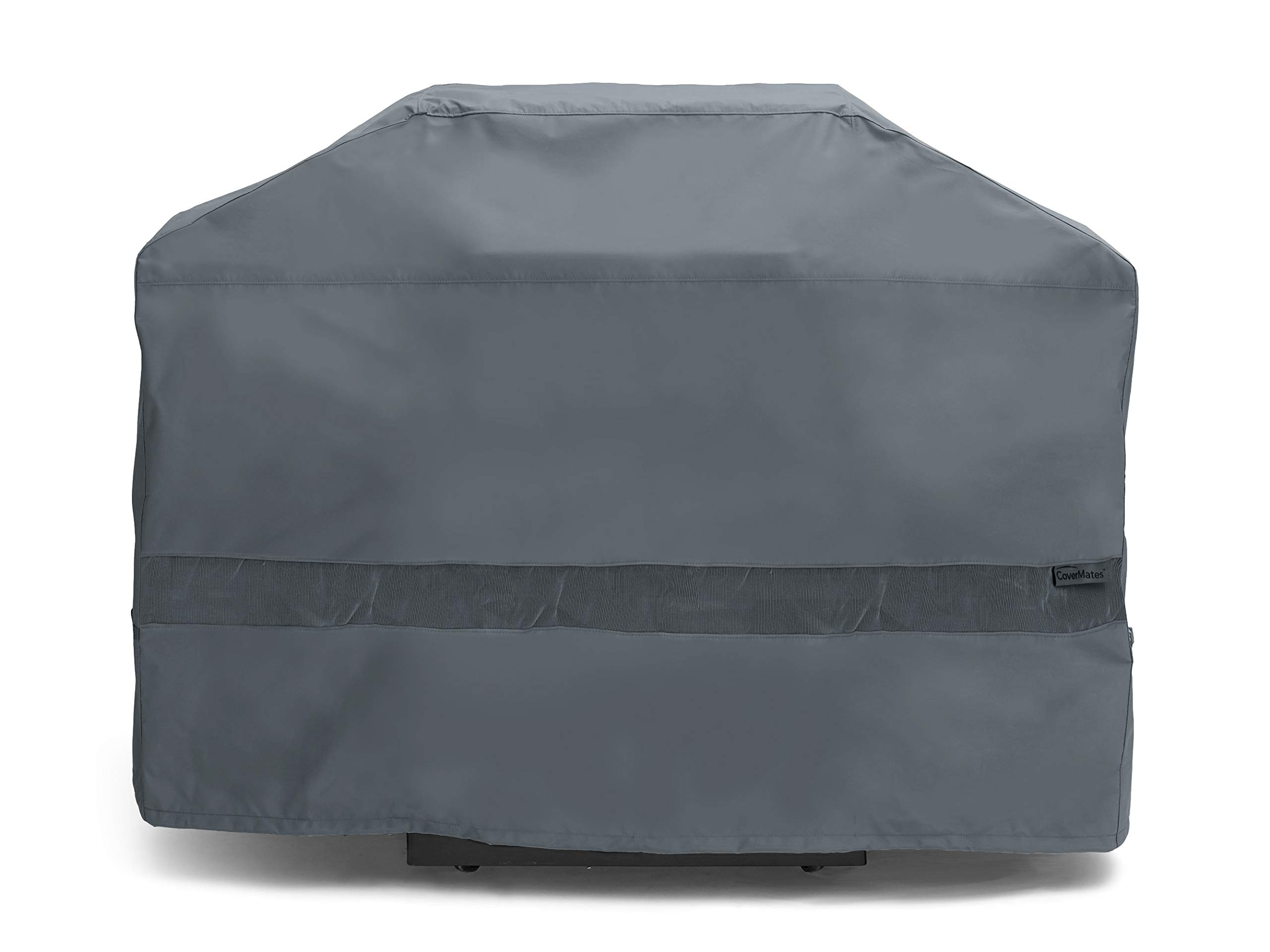 Covermates – Grill Cover – 92W x 30D x 46H – Elite – Open Mesh Vent for Breathability – Adjustable Drawcord to Cinch Cover – 3 YR Warranty – Weather Resistant - Charcoal