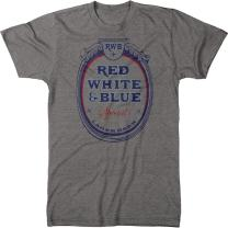 Red White &Blue Beer Men's Modern Fit Tri-Blend T-Shirt