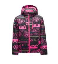 Spyder Girl's Lola Jacket – Kids Full Zip Outdoor Hooded Winter Coat
