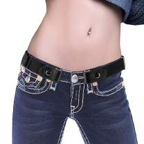 Buckle-free Elastic Women/Men Belt for Jeans without Buckle, XEYOU Comfortable Invisible Belt No Bulge No Hassle