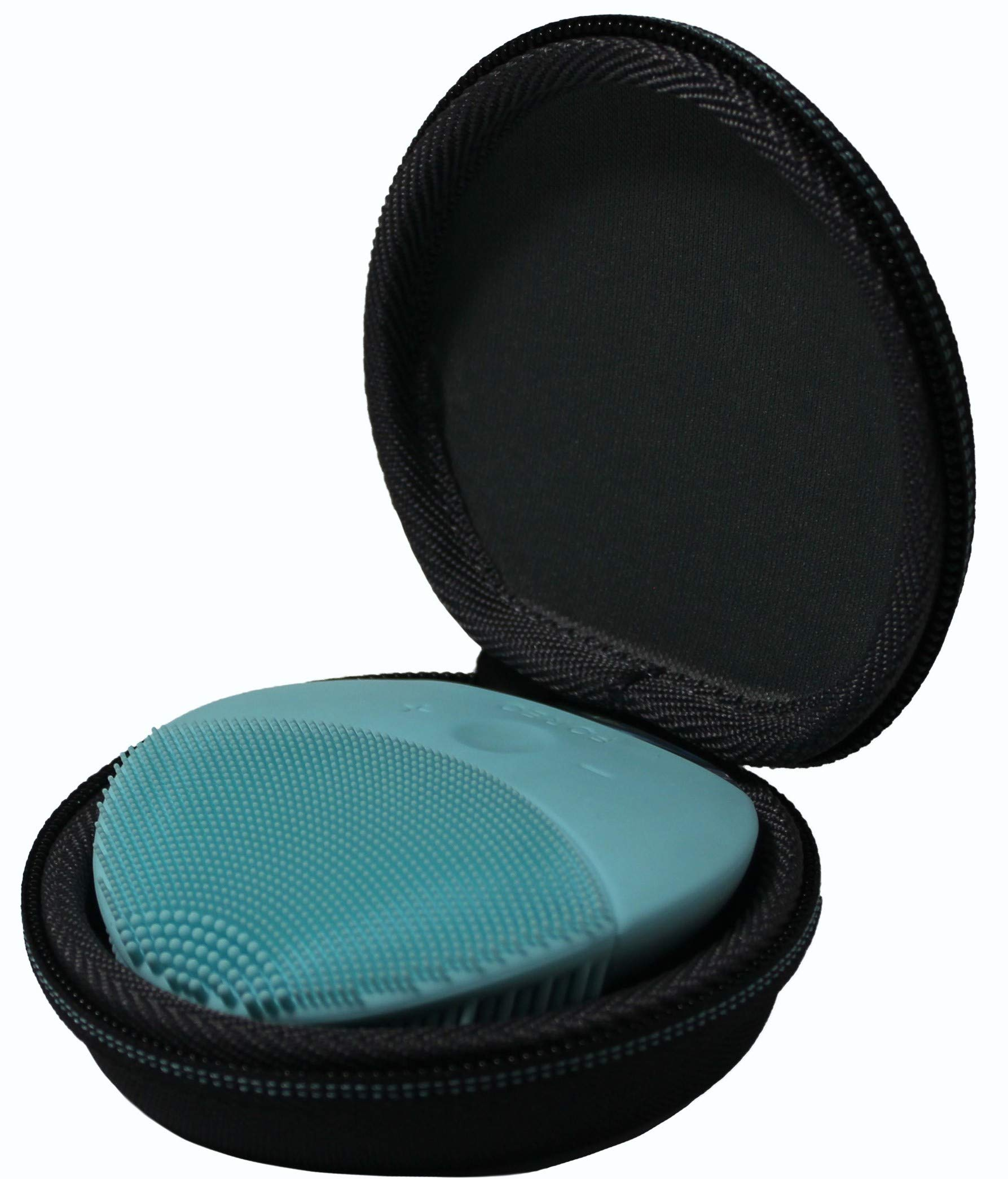 TUDIA LUNA Mini 2 Facial Brush EVA Carrying Case, Water Resistant Material Shock Absorption Storage Hard Portable Travel Case Compatible with FOREO LUNA mini 2 Facial Cleansing Brush