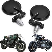 """7/8"""" 22mm Motorcycle Rearview Mirrors Rear View Handle Bar End Black fits for KTM 250 390 690 Duke"""