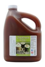 Chaikhana Chai – Honey Ginger Green Tea Chai Concentrate - Slow Brewed with Organic Green Tea, Ginger, Wildflower Honey and Fresh Crushed Spices - 1 Gallon - Makes (80) 8 oz. Drinks