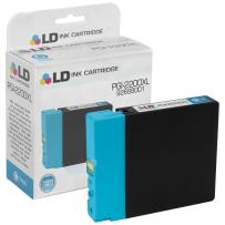 LD Compatible Ink Cartridge Replacement for Canon PGI-2200XL 9268B001 High Yield (Cyan)
