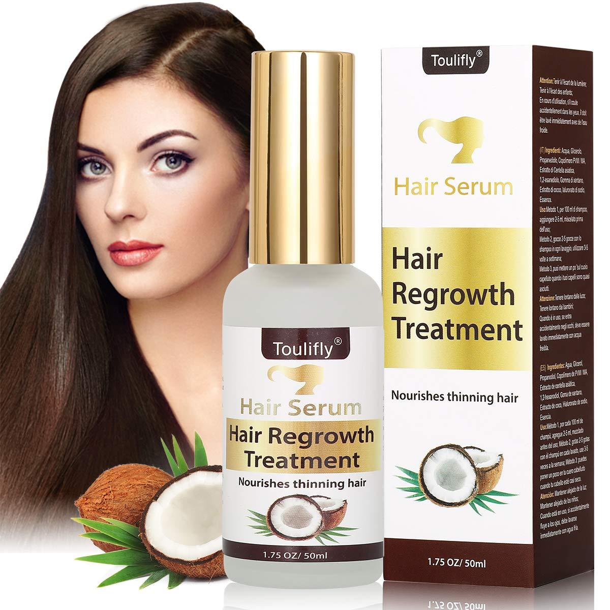 Hair Serum, Coconut Oil Hair Serum, Hair Growth Serum, Hair Serum For Damaged Hair, Hair Repair Serum, Hair Serum For Straightening Hair, Frizz Control and Shine