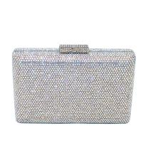 Bling Fully Diamonds Women Evening Bags Hard Case Party Cocktail Crystal Clutch Purses Wedding Handbags