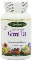 Paradise Herbs, Yellow Mountain, 20:1 Vegetarian Capsules, Green Tea, 120 Count