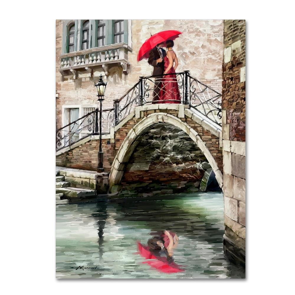 New Venice Bridge by The Macneil Studio, 24x32-Inch Canvas Wall Art