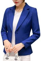 Womens Elegant OL Business Suits Blazer Tops Jackets Outfit
