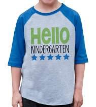7 ate 9 Apparel Kids Hello Kindergarten School Shirt