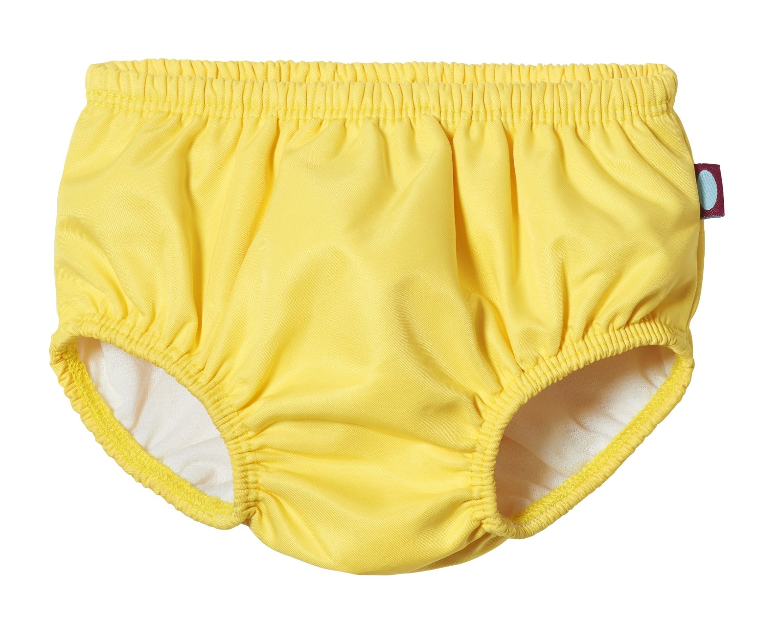 City Threads Baby Girls' and Boys' Swim Diaper Cover Reusable Leakproof for Swimming Pool Lessons Beach, Yellow, 3/6m