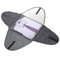 "Banuce Luggage Travel Gear Garment Folder 19"" Packing Folder for Travel Anti-wrinkle Shirt Packing Organizer Sleeve Overnignt Grey"