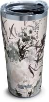 Tervis Kelly Ventura - Shade Blooms Stainless Steel Insulated Tumbler with Clear and Black Hammer Lid, 20oz, Silver