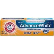 Arm & Hammer Advance White Extreme Whitening Toothpaste, 0.9 oz.