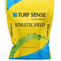 Barenbrug 25620 Turf Sense Athletic Field Grass Seed Grows in Areas of Sun and Partial Shade, 5 LB Bag