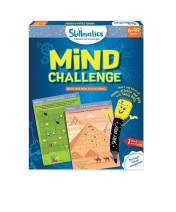 Skillmatics Educational Game: Mind Challenge (6-99 Years) | Erasable and Reusable Activity Mats | Travel Toy with Dry Erase Marker |  Learning tools for Kids 6, 7, 8, 9 Years and Up