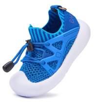 BMCiTYBM Mesh Toddler Sneakers Boys Girls Slip on Shoes Little Kid Tennis Running