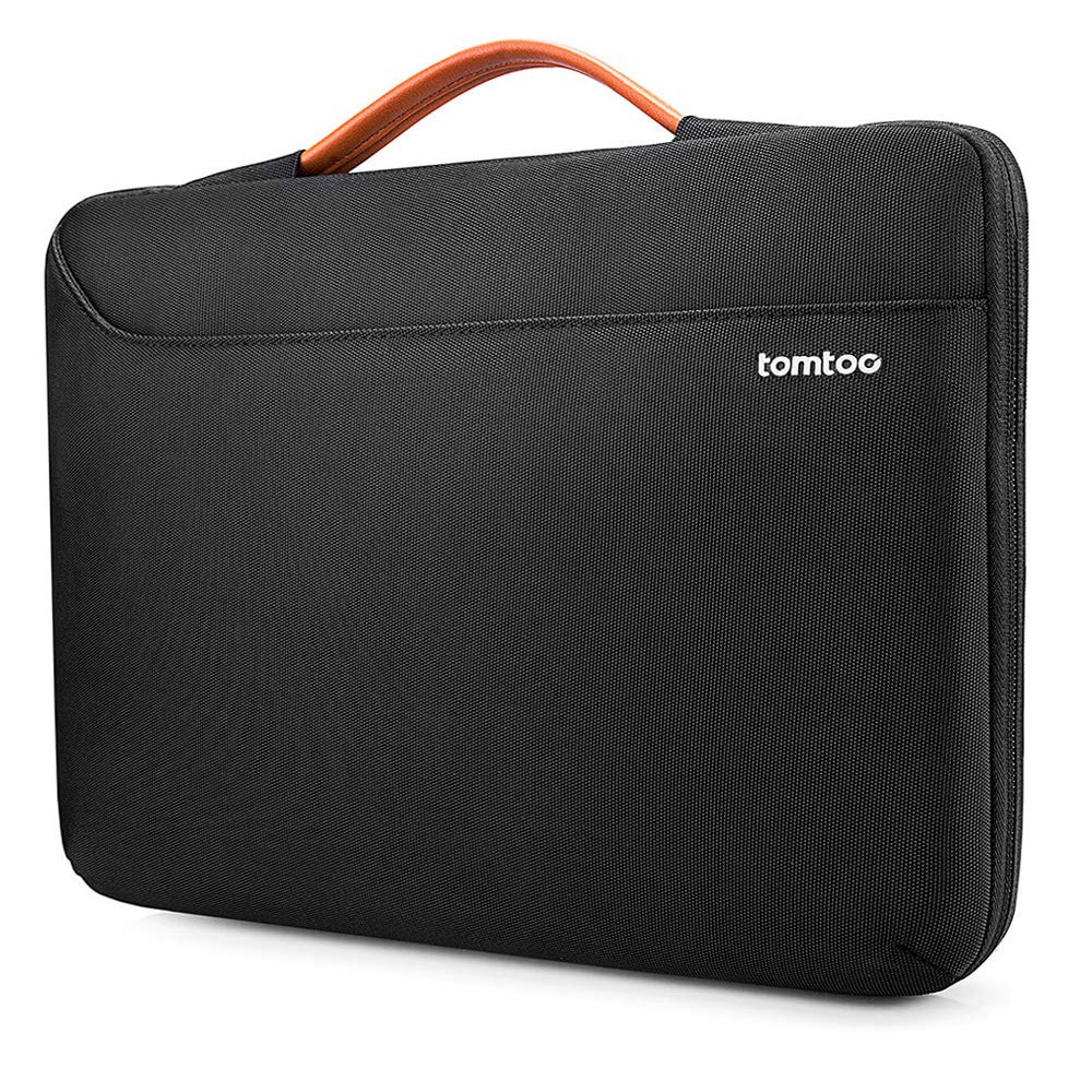 tomtoc 360 Protective Laptop Sleeve Case for 13.3 Inch Old MacBook Air, Old MacBook Pro Retina, Notebook Ultrabook Bag Carrying Briefcase for 13 Inch HP Envy, ASUS Zenbook 13, ThinkPad X380 X390 Yoga