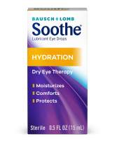 Bausch + Lomb Soothe Lubricant Eye Drops, Hydration, 0.5 Ounce/15 ml