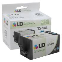 LD Remanufactured Ink Cartridge Replacement for HP 934XL C2P23AN High Yield (Black)