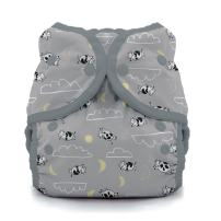 Thirsties Duo Wrap Cloth Diaper Cover, Snap Closure, Over The Moon Size One (6-18 lbs)