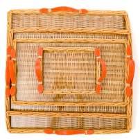 Amanda Lindroth's Signature Island Tray (Medium, Orange)