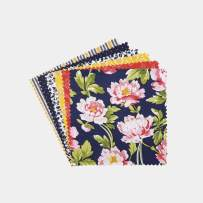 """Connecting Threads Print Collection Precut Quilting Fabric Bundle 5"""" Charm Squares (Penelope Grace)"""