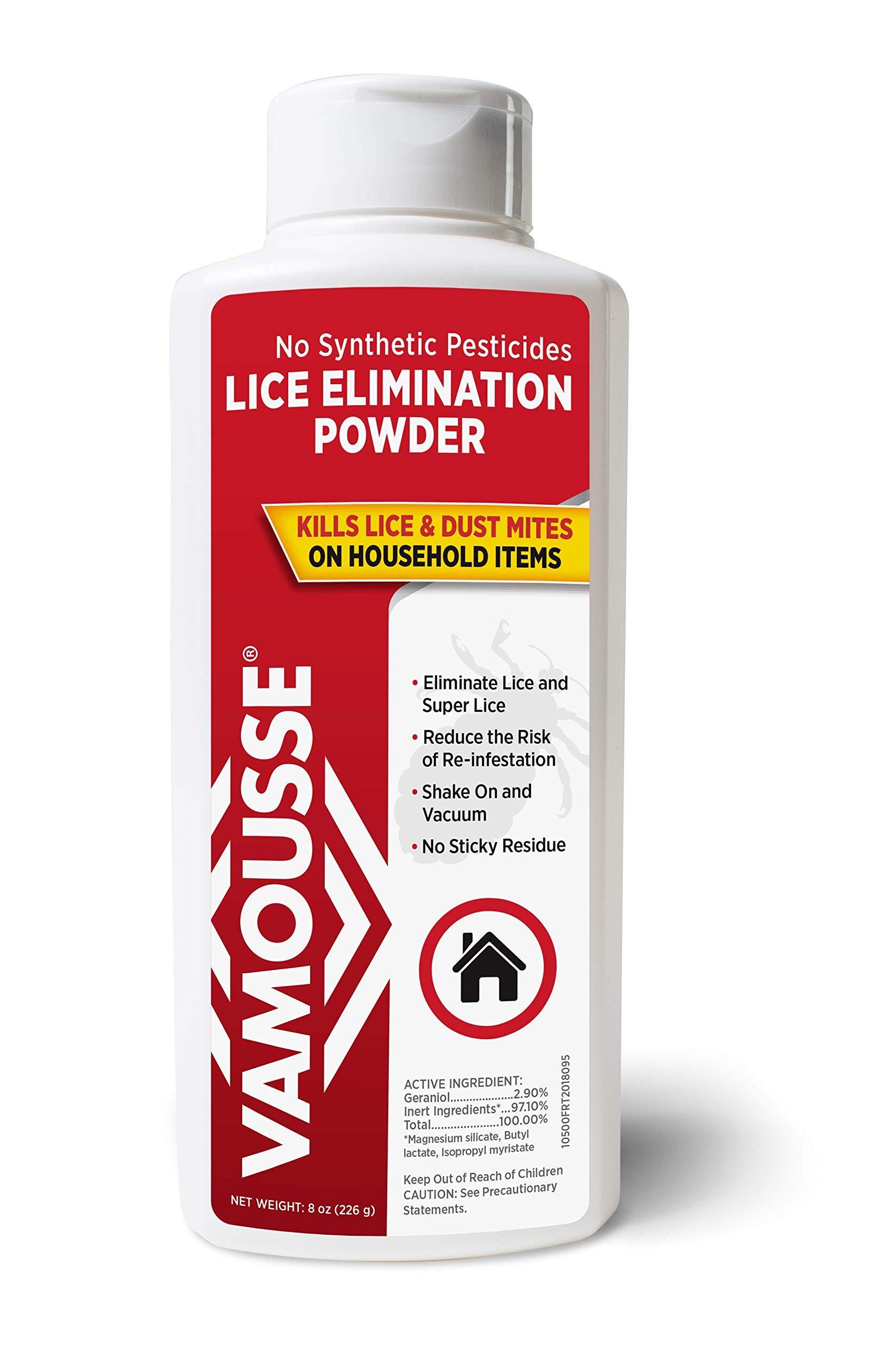 Vamousse Lice Elimination Powder, 8 Ounce