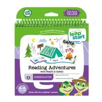 LeapFrog LeapStart Kindergarten Activity Book: Reading Adventures and Health & Safety, Great Gift for Kids, Toddlers, Toy for Boys and Girls, Ages 4, 5, 6, 7